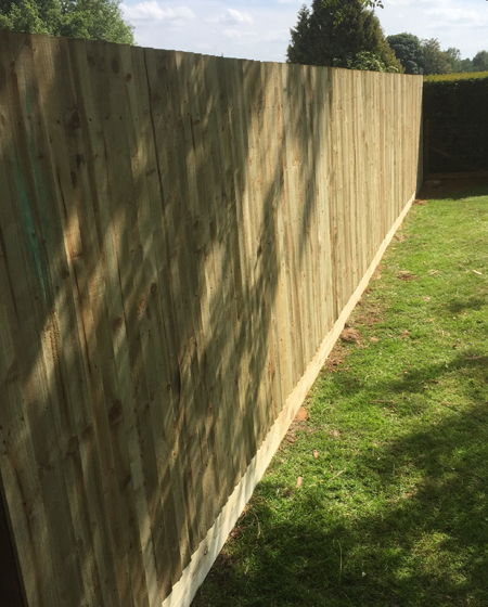 res close board fencing